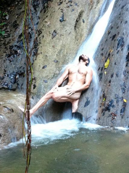 Naga Reclining Waterfall